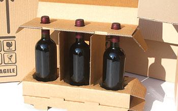 1d86010e73 Scatole per bottiglie imballi protettivi per spedire bottiglie di ...